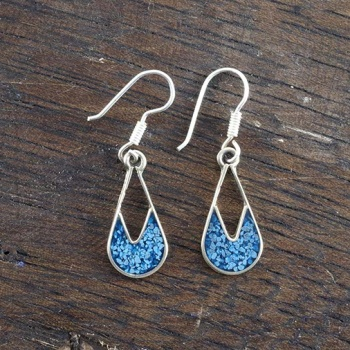 Evita Blue Crush Earrings