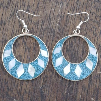 Gabriela Blue Crush Earrings