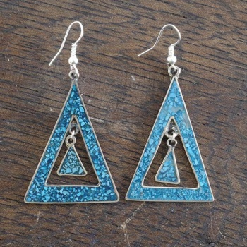 Honoria Blue Crush Earrings