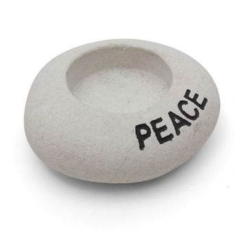 Peace Stone T-Light Holder