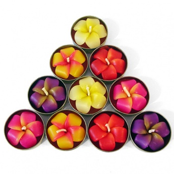 Frangipani Flower T-Lights