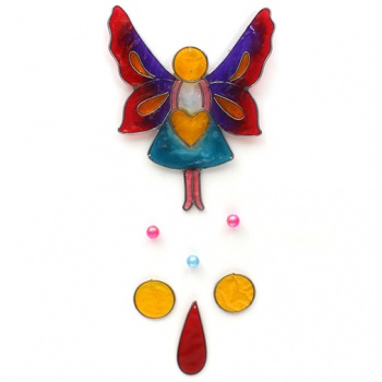 Angel Heart Suncatcher