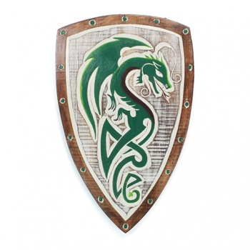 Green Dragon Shield Plaque
