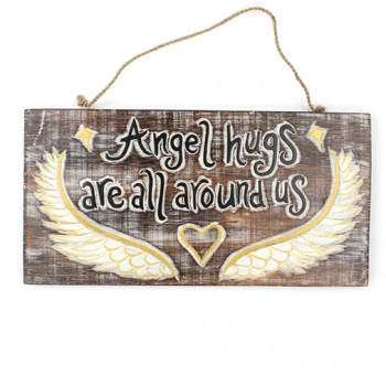 Angel Hugs Plaque