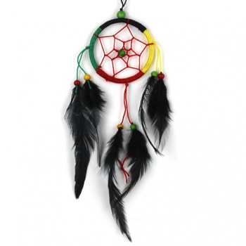 Small Rasta Dreamcatcher