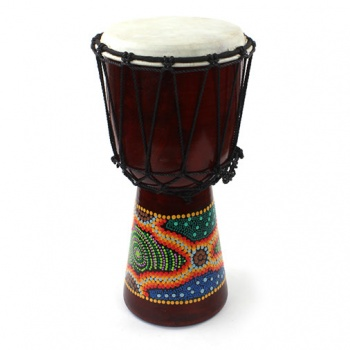 40cm Painted Djembe Drum