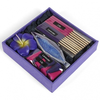 Lavender & Lily Incense Set