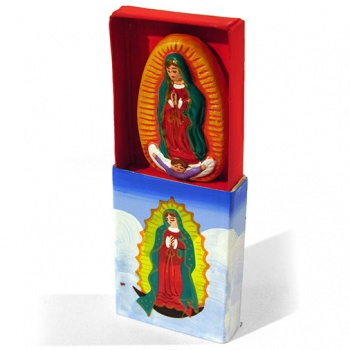Virgin of Guadalupe Matchbox