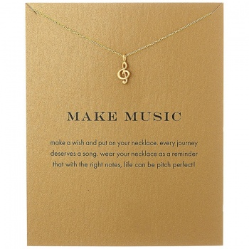Lucky Charm Necklace - Make Music