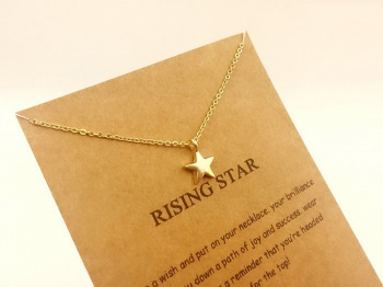 Lucky Charm Necklace - Rising Star
