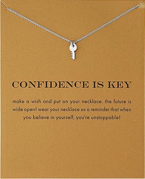 Lucky Charm Necklace - Confidence is Key