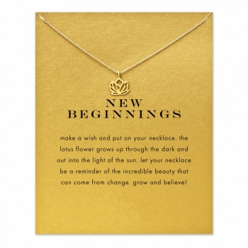 Lucky Charm Necklace - New Beginnings