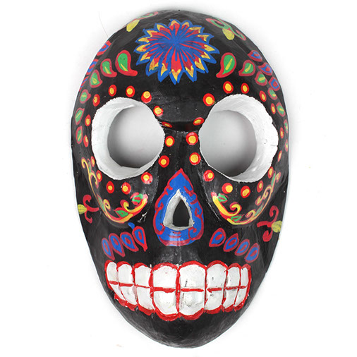 Day Of The Dead Liquorice Candy Skull Mask