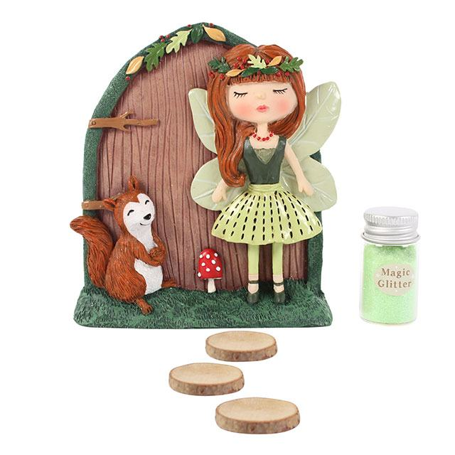 Scarlett and sybil fairy door gift set for Fairy door gift set
