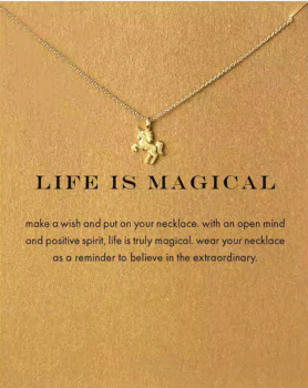 Lucky Charm Necklace - Life is Magical