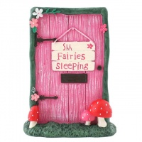 Fairy Door with Fairies Sleeping
