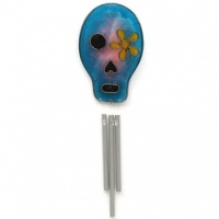 Candy Skull Sun Catcher Chime
