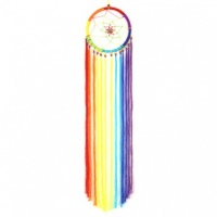Medium Rainbow Trail Dreamcatcher