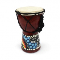12cm Painted Djembe Drum
