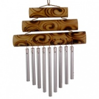Small Triple Bamboo Chime