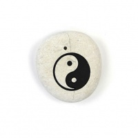Yin Yang Stone Incense Holder