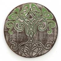 Celtic Tree Knot Plaque