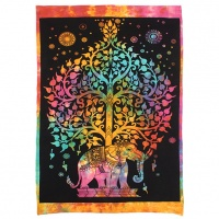 Elephant Tree Wall Hanging