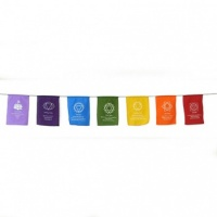 Small Chakra Prayer Flags
