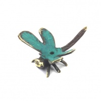 Bronze Dragonfly Incense Holder