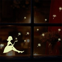 Glow in Dark Fairy with Dandelion Seeds