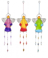 Angel resin lightcatcher with beads