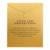 Lucky Charm Necklace - Love & Protection