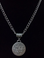 Double Sided Tree of Life Charm Pendant