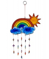 Sun and Rainbow Window Suncatcher