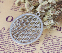 Round Flower of Life Pendant