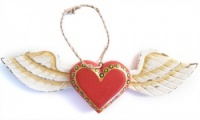 Hanging Angel Heart